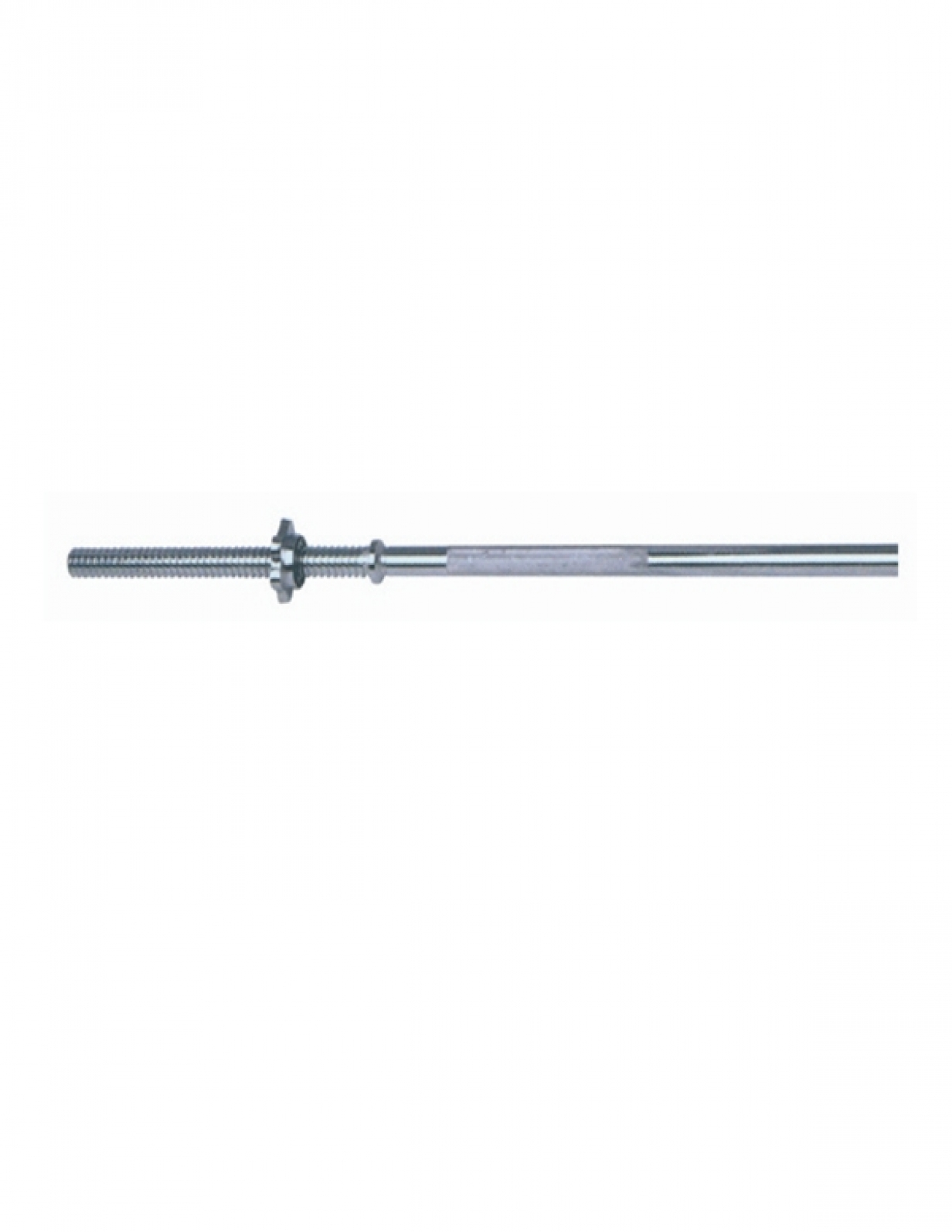 W 3711 25.4Dia Barbell Bar With Star Collar 3'