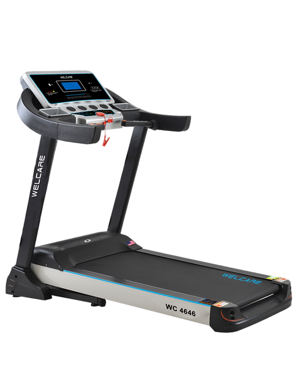 WC 4646 DC MOTORIZED TREADMILL