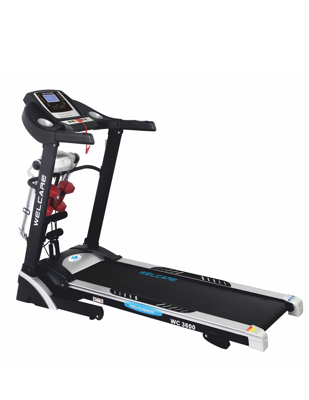 WC 3600 DC MOTORIZED  TREADMILL