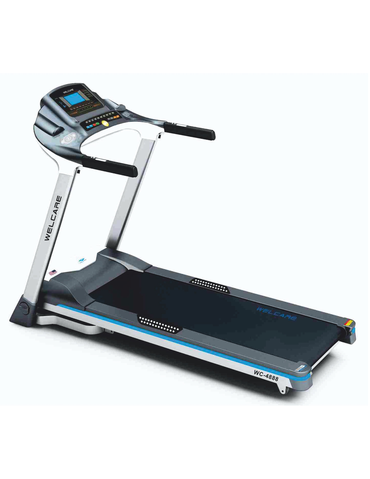 WC 4800 DC MOTORIZED  TREADMILL