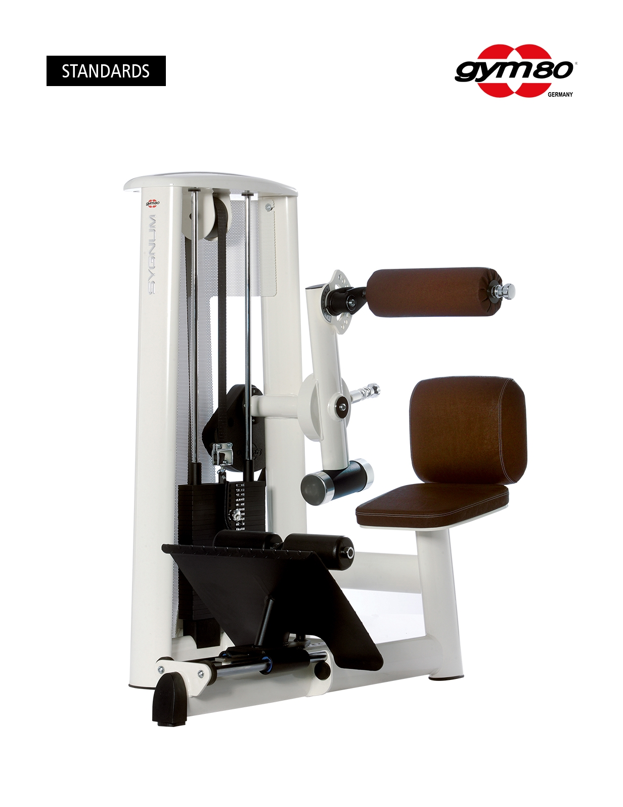 SPECIAL ABDOMINAL MACHINE WITH LEG LENGTH ADJUSTMENT