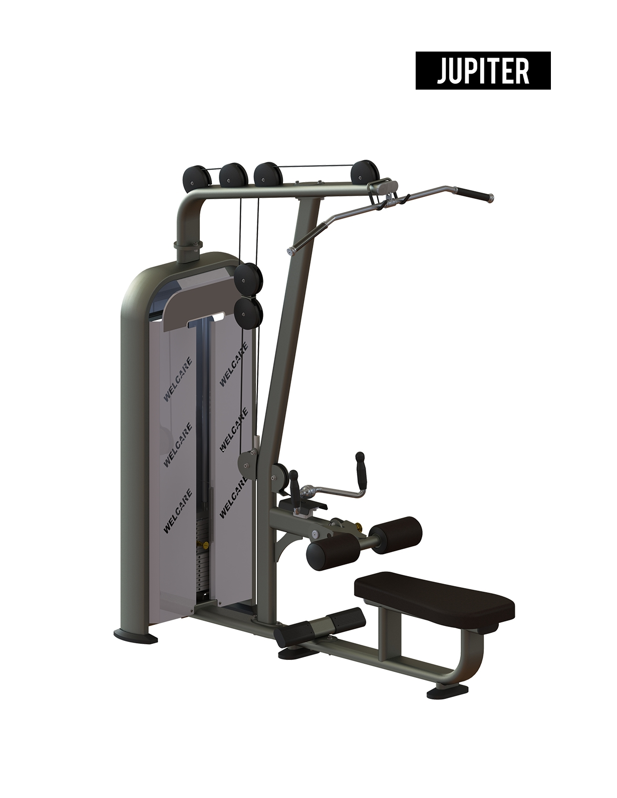 JL8915 LAT PULLDOWN/ SEATED ROW