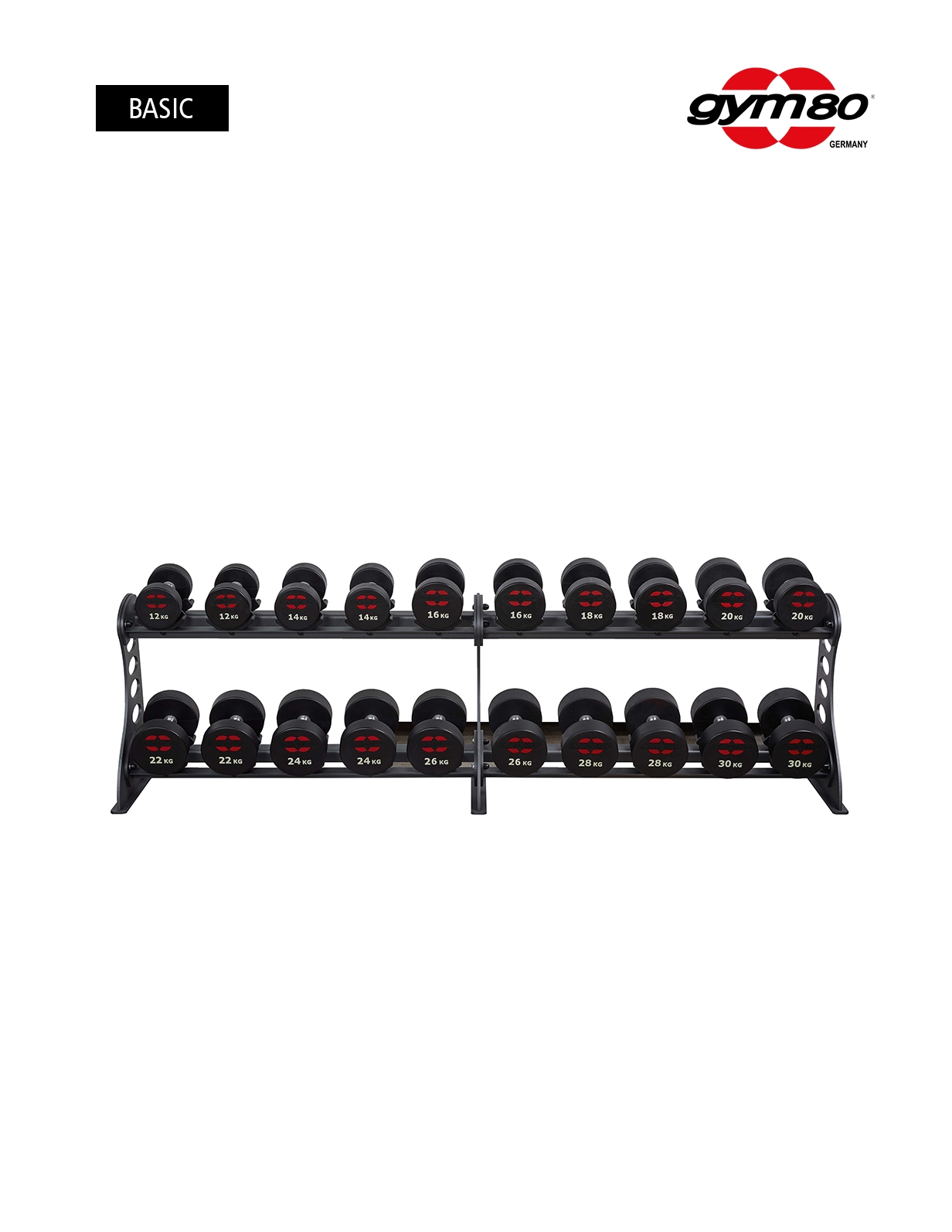 DUMBBELL RACK SYGNUM FOR 20 DUMBBELLS
