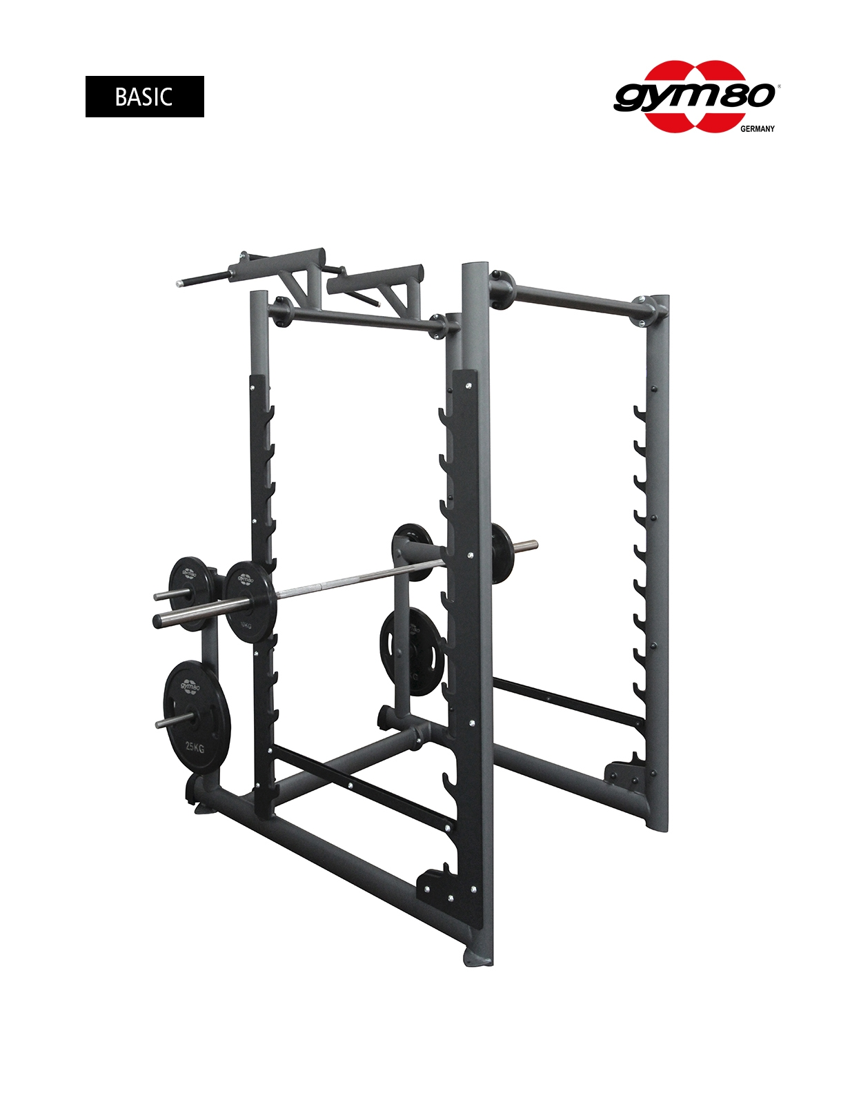 MULTI RACK WITH CHIN UP BAR