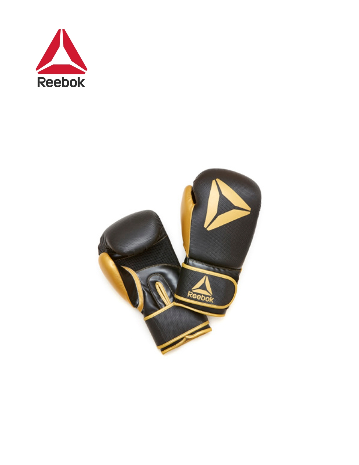 RETAIL BOXING GLOVES- GOLD / BLACK