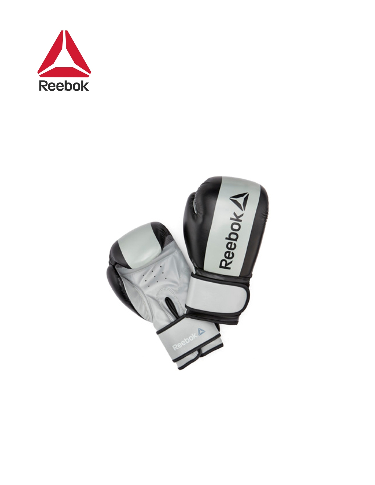 RETAIL BOXING GLOVES- GREY