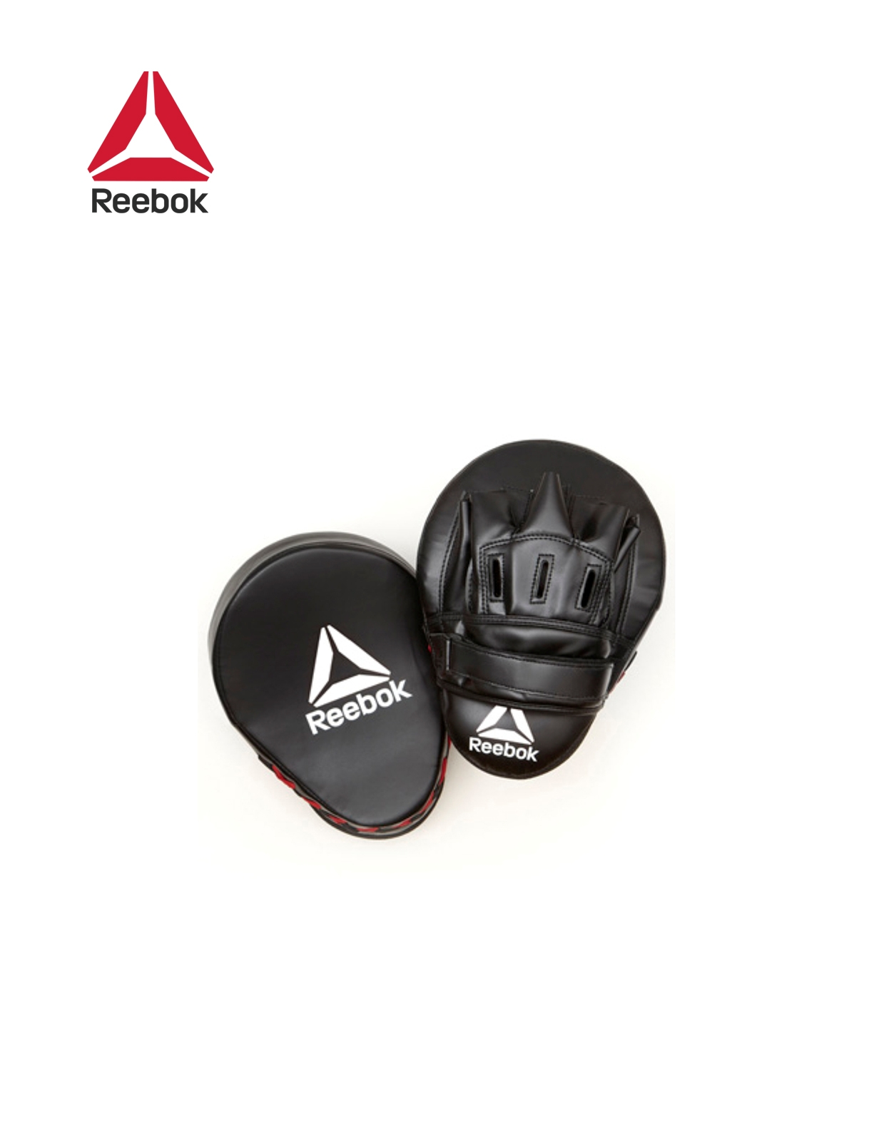 HOOK AND JAB PADS - RED / BLACK