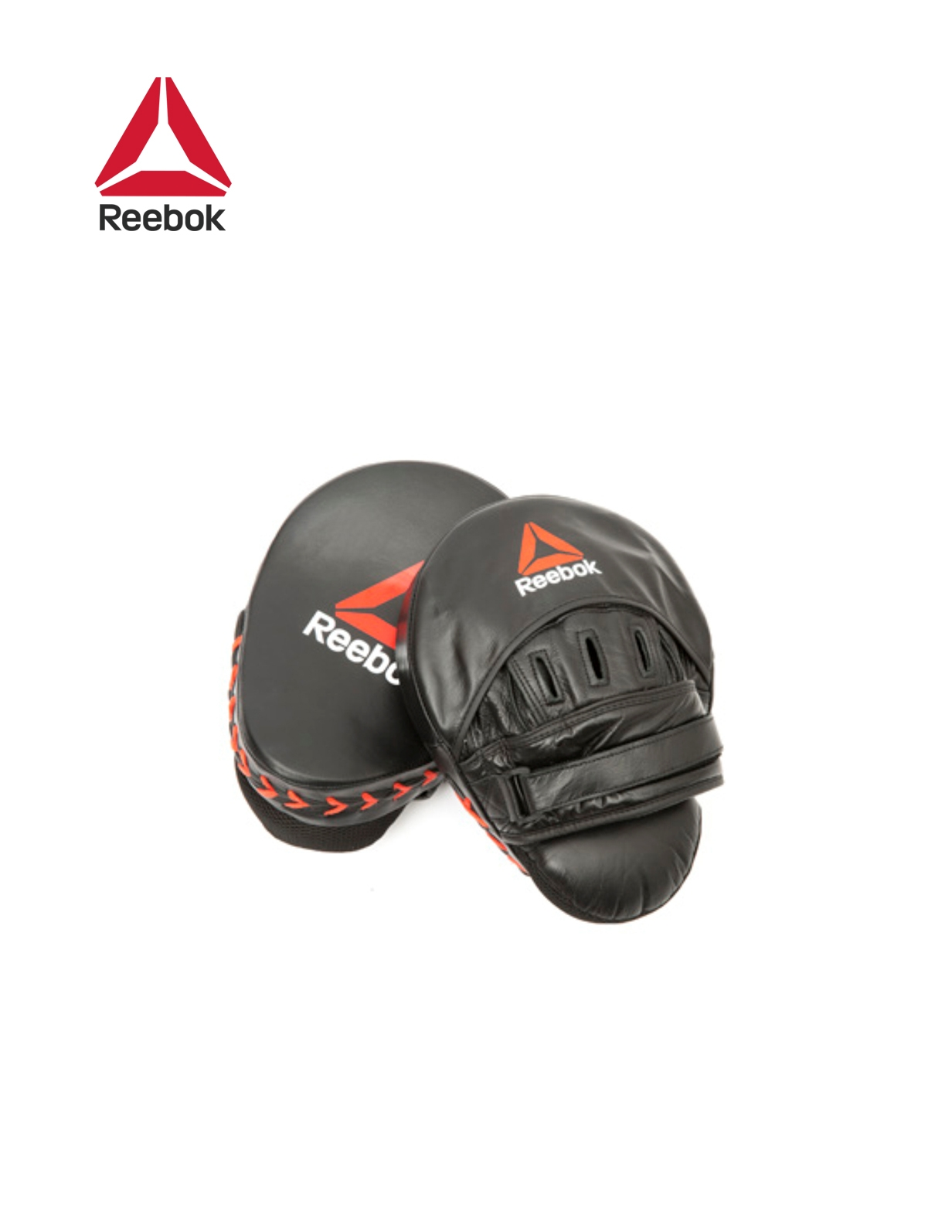 HOOK AND JAB PADS - RED / BLACK 1