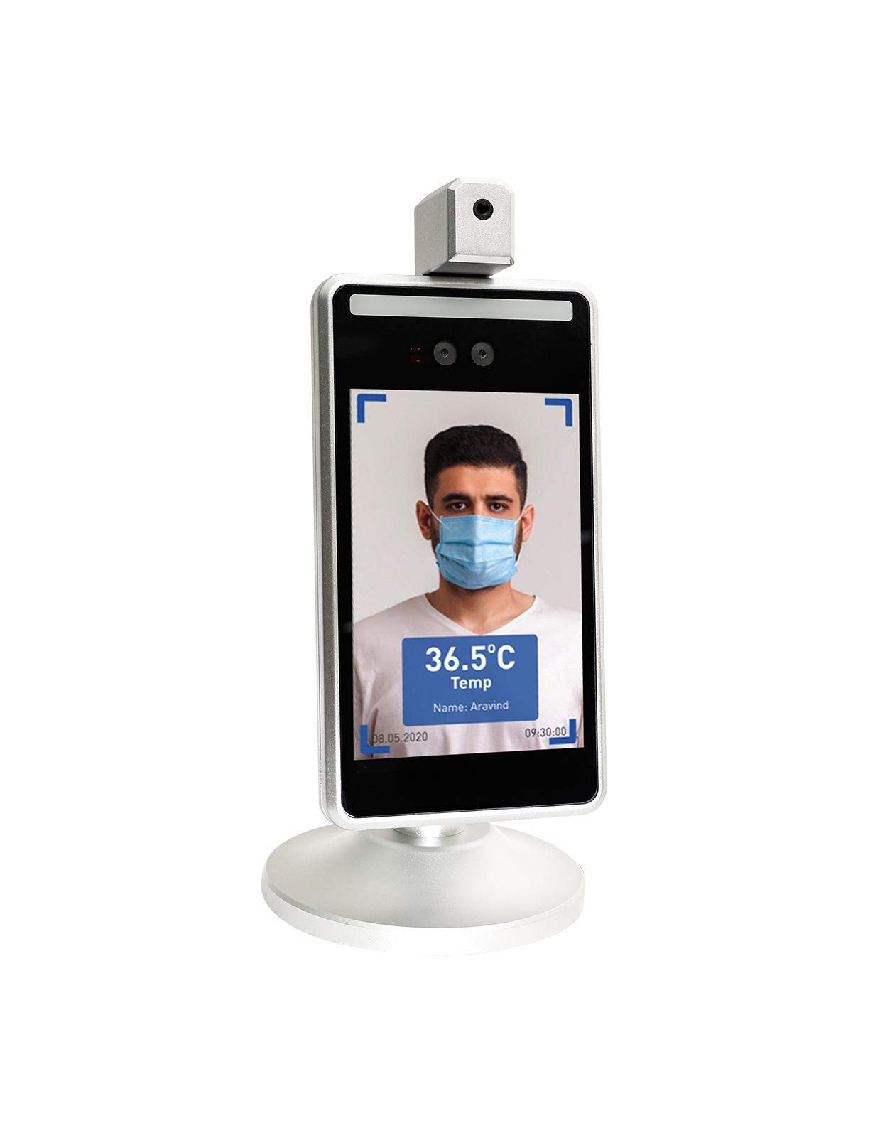 face recognition temperature detection