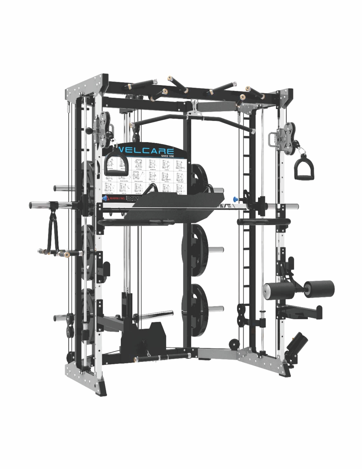 WC4501 smith functional trainer
