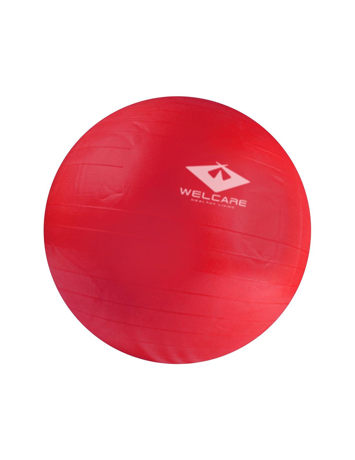 W2103  ANTI BURST GYM BALL WITH PUMP