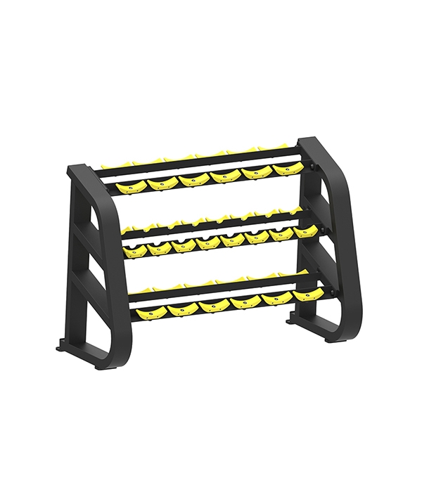 WR 2602A 3 TIRE DUMBBELL RACK